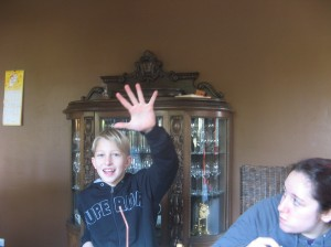 Merlin, age 9.