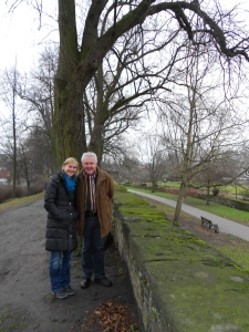 Imke and her father, Karl-Walter, who led us on our impromptu tour!