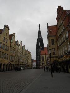 Münster's main shopping street!