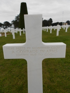 There are over 1000 of these markers for soldiers who could not be identified before burial.