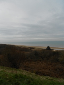 The beaches of Normandy.