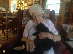 Granny adopted Sage!