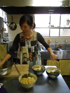 Nori is my Japanese cooking sensei (teacher in Japanese)!