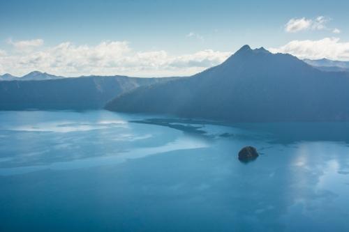 Lake Masshu in Akan National Park.
